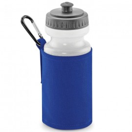 royal water bottle and holder with printed name
